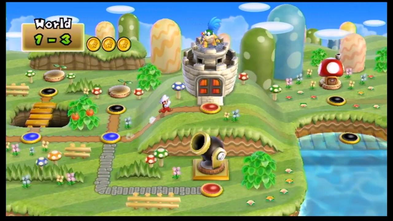 Let S Play New Super Mario Bros Wii 3 Underwater Agonies