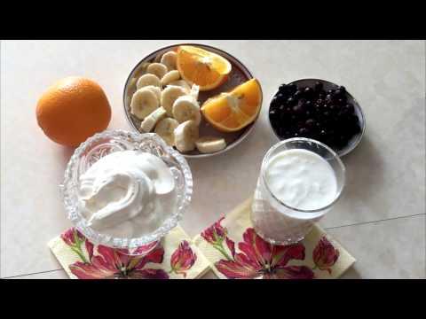 Йогурт натуральный 2% - калорийность, полезные свойства