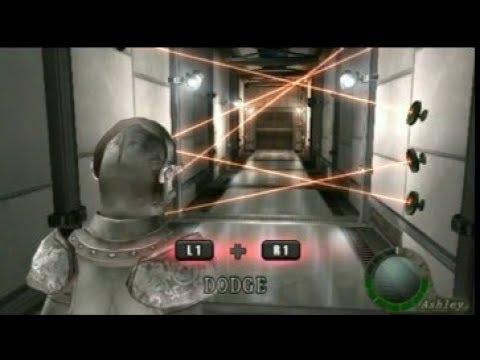 Resident Evil 4 - Ashley Suit Armor Vs Laser Room