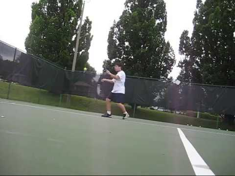 FLASHBACK - Hitting Forehands at 12 Years Old