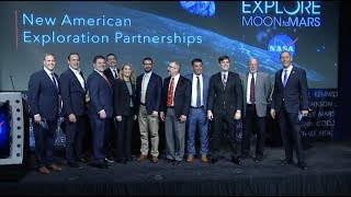 NASA Announces New Moon Partnerships with U.S. Companies
