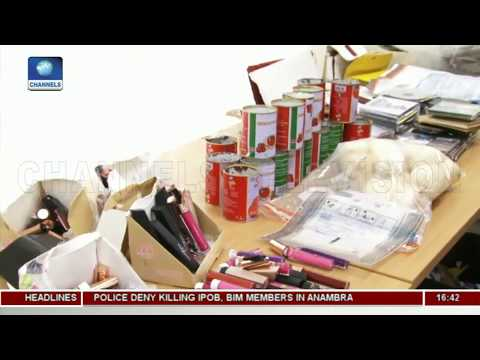 Report On Illicit Drugs Seizure At MMIA, Lagos |Aviation This Week|