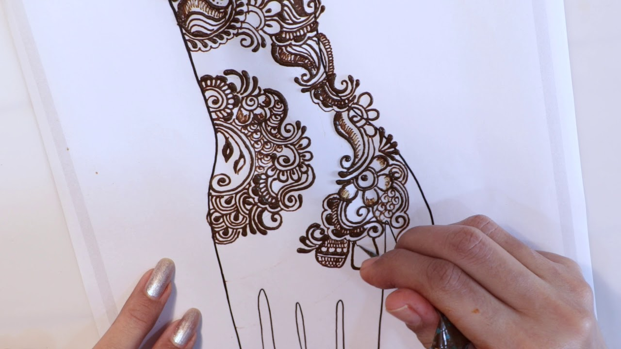 simple mehndi chapter 63 arabic style floral mehndi design