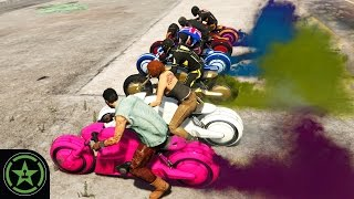 Let's Play - GTA V - Non-Stop Bike