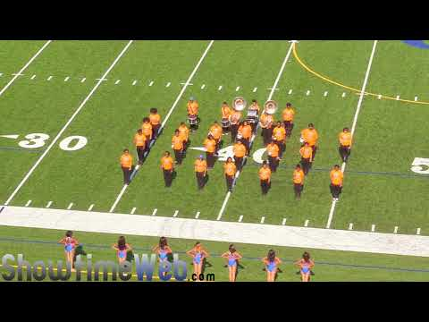 Columbia (L) vs Cedar Grove High (R) - 2018 Metro Atlanta Band Jamboree