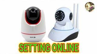 SPC IP Cam Setting online ke Android Password (123456) Smart Baby Cam• Onvif• Claver |Tutorial CCTV