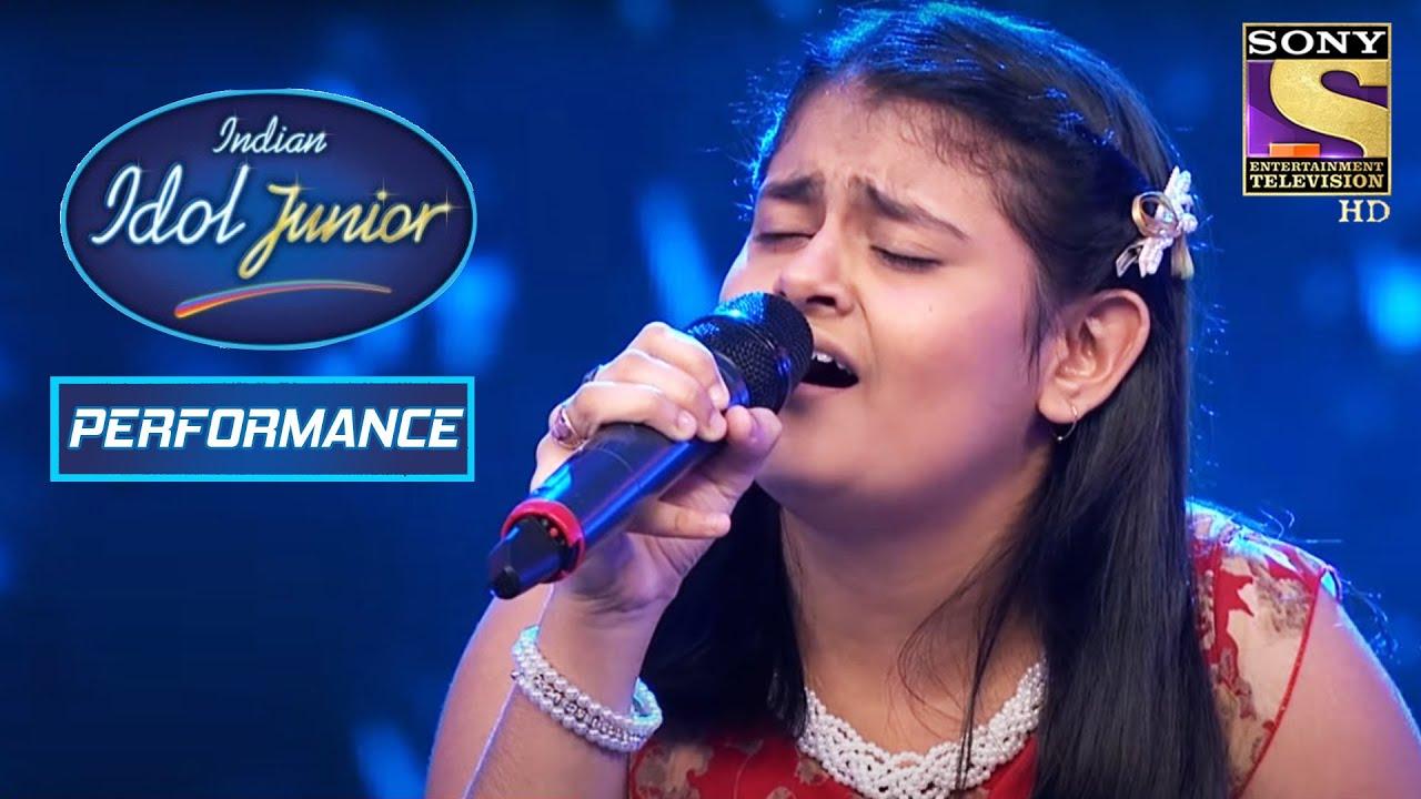 Download Ananya's Outstanding Performance On 'Mere Naina Sawan Bhadon'   Indian Idol Junior 2