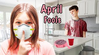 SNEAKY April Fools Day JOKE and Funny PRANKS!!!