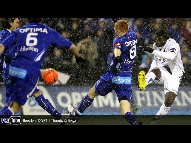 2009-2010 - Jupiler Pro League - 25. AA Gent - Club Brugge 1-1