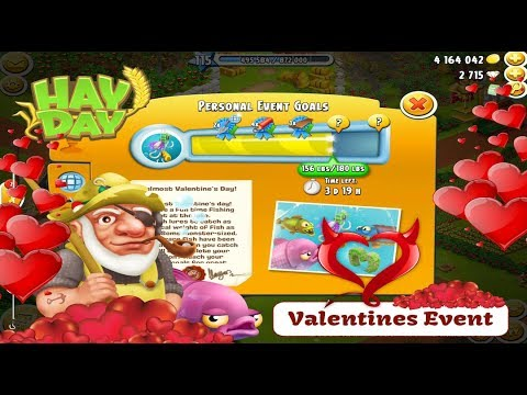 Hay Day - Valentines Fishing Event 2018