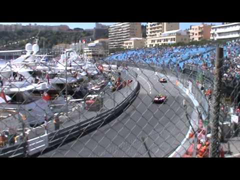 The view from Z1 General Admission area at 2014 Monaco F1 Grand Prix