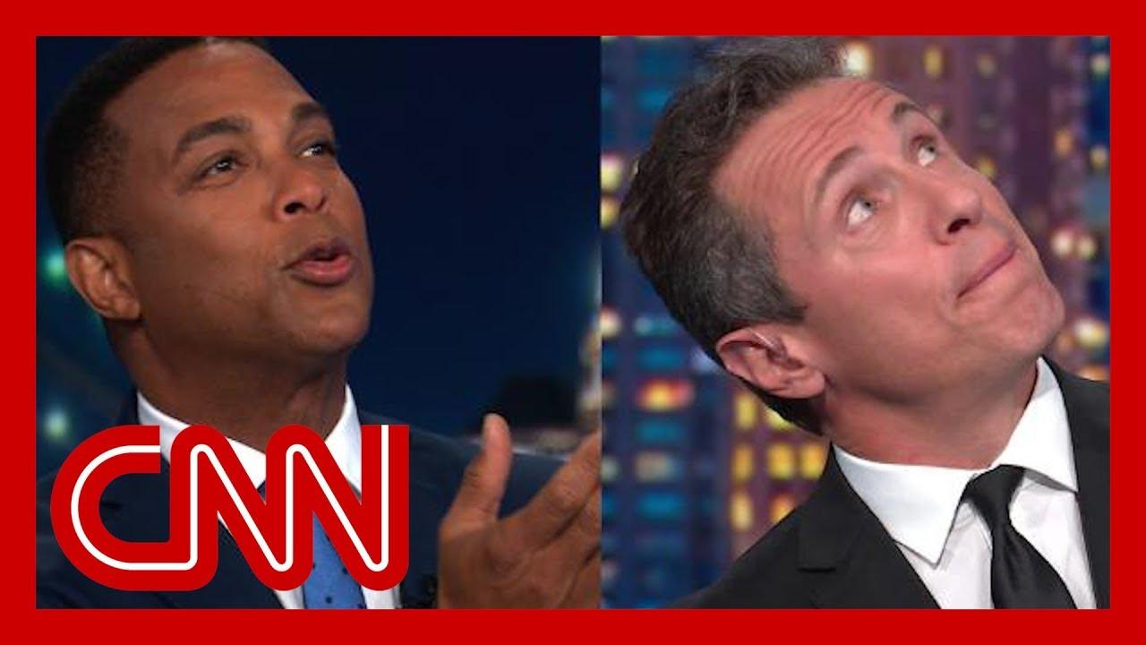 CNN:Lemon and Cuomo imagine Trump prepping 'chosen one' line