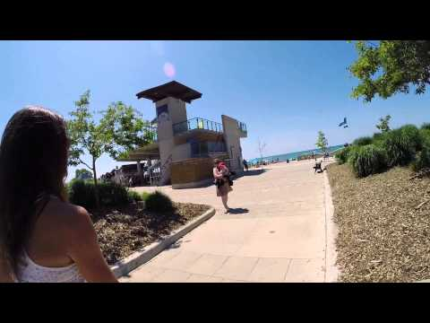 Grand Bend Beach and Strip Walk