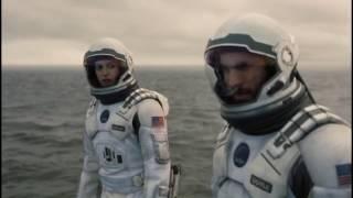 Приливная волна на планете Миллер. Момент из фильма Интерстеллар/Moment Interstellar