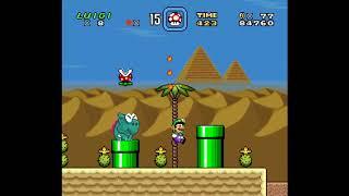 SMW Hack - Luigi's Misadventures: Tsux Namine's Factor (18)