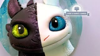 Night Fury cake Light Fury How To Train Your Dragon, birthday cake ideas
