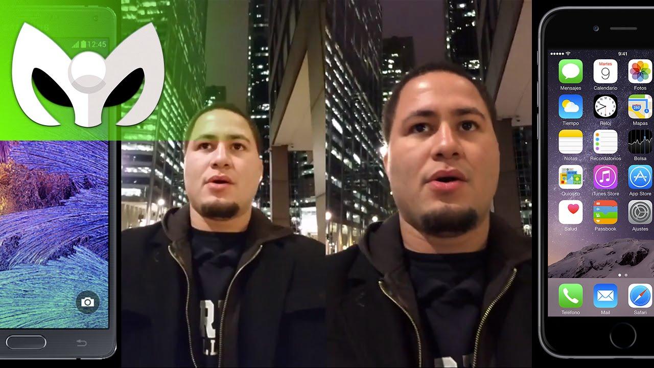 Note 4 vs iPhone 6 Plus (Camara, Video, Audio Completo ...