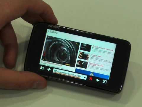 Обзор Nokia N900