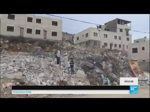 Middle East: Israel Destroys Family Homes Of Palestinian Knife Attackers
