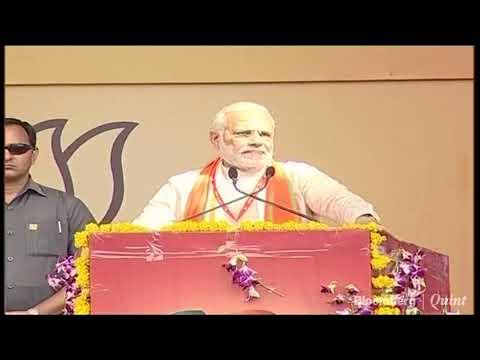 PM Modi Takes A Dig At Congress