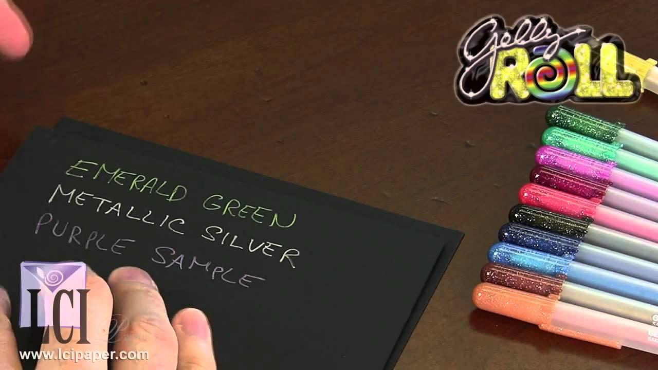 Gelly Roll Metallic Pens - Smooth Flowing c9f9273eef384