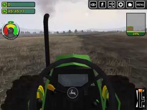 John Deere Drive Green PC Game-Play: Episode 1, Basics & Jobs 1&2 of 15