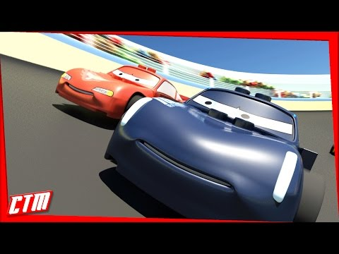 🏁 RACE 🏁 Lightning McQueen vs. Jackson Storm 🏁 CARS 3 🏁 Short LEGO Movie Animated Cartoon