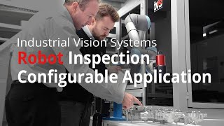 Robotic Inspection Cell With Robot and Vision System