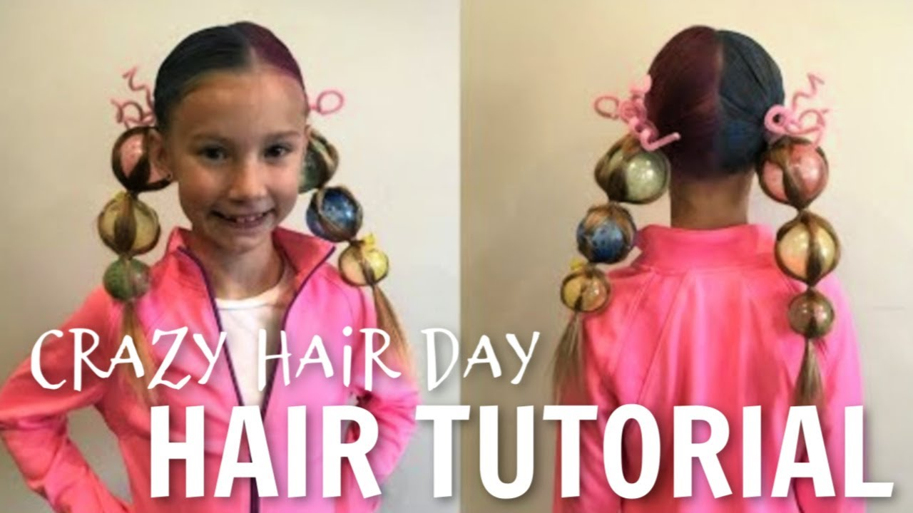 crazy hair day tutorial