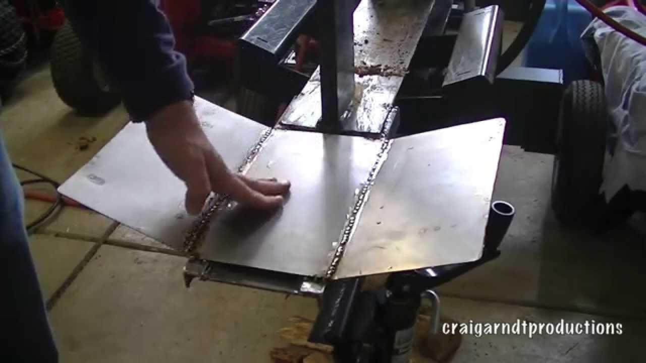 Log Splitter Table