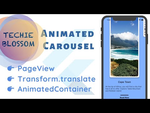 Animated Carousel   Flutter UI