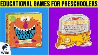 10 Best Educational Games For Preschoolers 2019