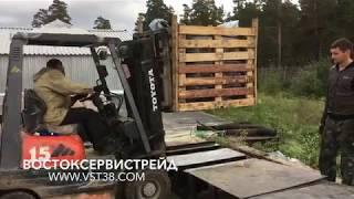 ООО ВСТ распаковка битум бокса для плавилок