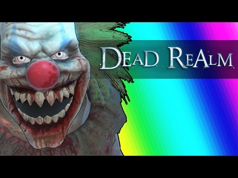 Dead Realm Funny Moments - Halloween Edition w/ New Clown Ghost!