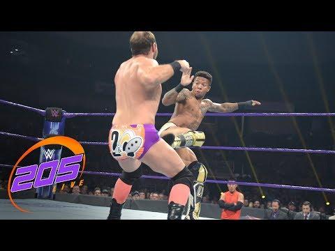 Lio Rush vs. Colin Delaney: WWE 205 Live, July 10, 2018