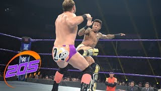 Lio Rush vs. Colin Delaney: WWE 205 Live, July 10, 2018