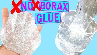 DIY 2 WAYS TO MAKE CLEAR SLIME WITHOUT BORAX OR GLUE! How To Make Clear Slime! Liquid Glass Putty