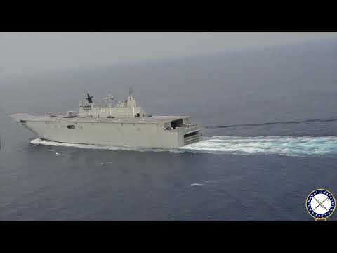 USNI News Video: Aboard Australian Amphib HMAS Adelaide