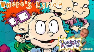 Rugrats Theme Song Lyric Video | Where's Lyric? Waldo Game