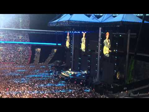 Ed Sheeran Live at Wembley Stadium on 11 July 2015