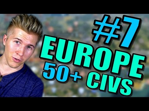 Civilization 5 Gameplay [Civ 5] Brave New World | Europe AI ONLY 50+ Civs Mods | Part 7