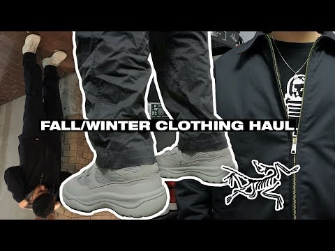 Fall/Winter 2019 Clothing Haul (YEEZY, ARC'TERYX, DICKIES...)
