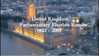 UK Parliamentary Elections, 1832 - 2005
