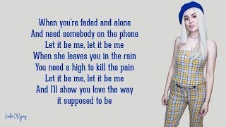 David Guetta u0026 Ava Max - Let It Be Me (Lyrics)