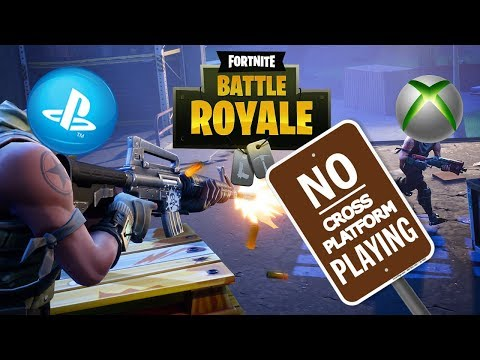 Sony Blocks Cross Play With Xbox In Fortnite