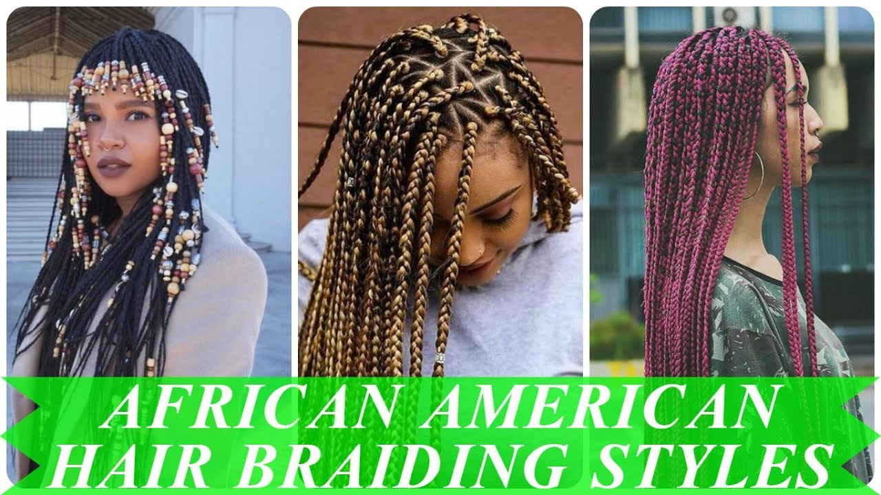 Braiding Styles For African American Hair: Best Box Braids Long Hair For African American Women