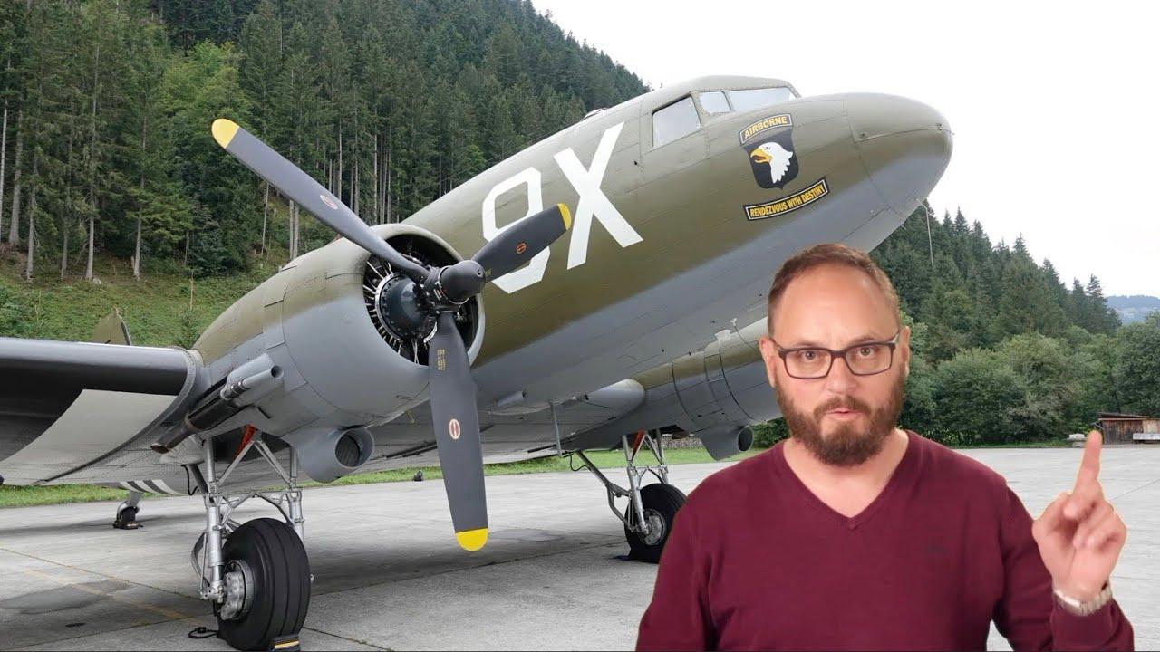 Download EXCLUSIVE: Tour through a Douglas C-47 Skytrain!