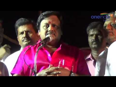 Ramarajan Speech | Ramarajan Campaign | Vellore Meeting | ராமராஜன் பிரசாரம் -Oneindia Tamil