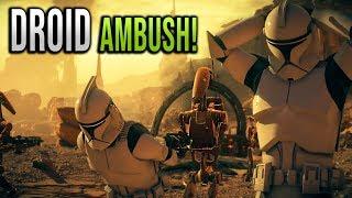 Battle droid ATTACK! - The Battle of Geonosis - STAR WARS Battlefront 2