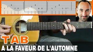 """Video-Tab """"A La Faveur De L'Automne"""" - Cours Malero-Guitare.fr"""